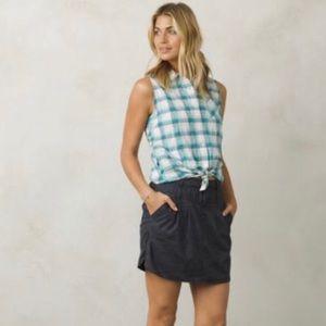 prAna Hemp Blend Skirt Size 8